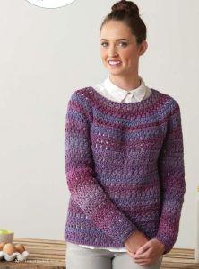 Cozy-Crochet-Pullover